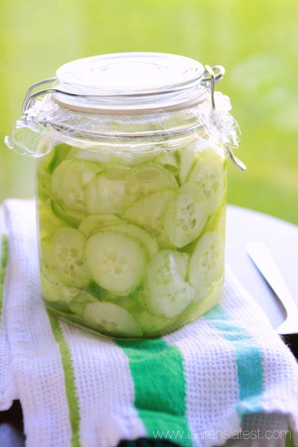 Grandma's Cucumber Salad/Tastes just like my Grandmom's. So good. I used 2 regular cucumbers  (25  cents a piece at Aldi). Everything else I followed exactly. So glad I found this recipe because I could not figure out how she made them. Will make for years.
