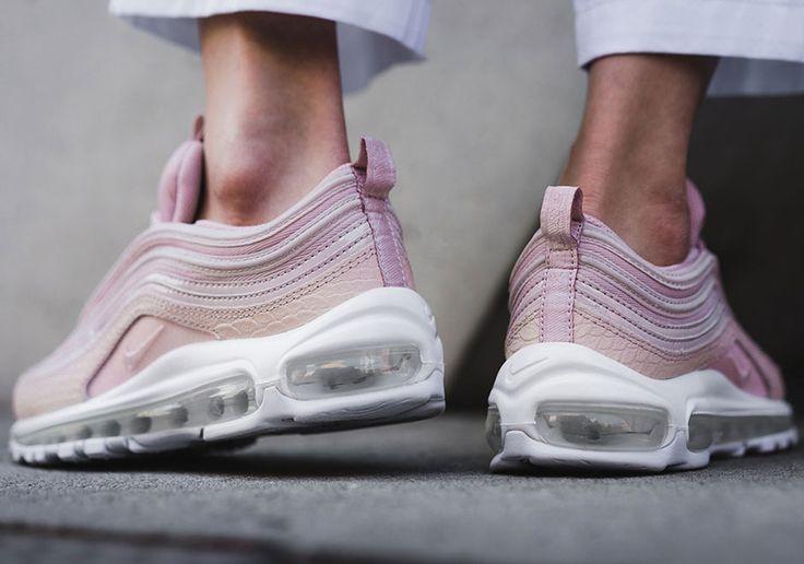"#sneakers #news  Nike Air Max 97 Premium ""Pink Snakeskin"""