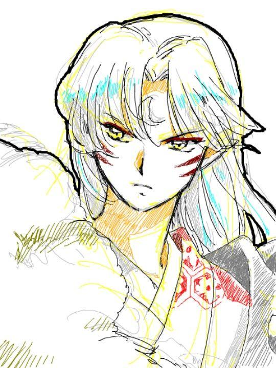 Lord Sesshomaru - InuYasha fanart