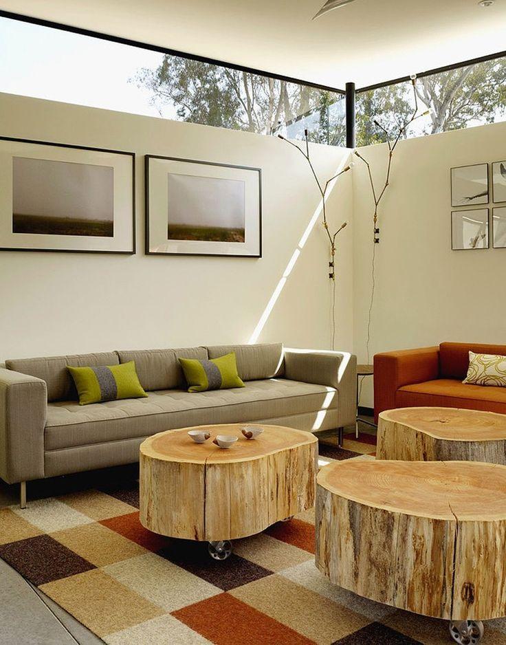 Más de 1000 ideas sobre mesa de tronco de Árbol en pinterest ...