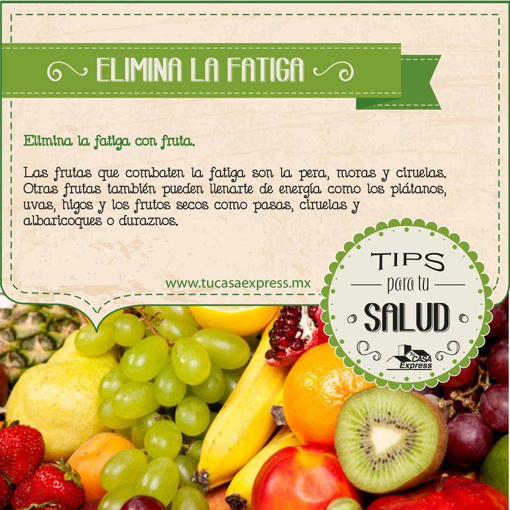 Elimina la fatiga con fruta TipsExpress Salud