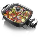 Tower T14010 Electric Saute Pan - Black - 30cm Enjoy fuss free alfresco cooking without smokey barbeque fuel or expensive gas canisters thanks to the Tower Ceramic Electric Frying Pan. Enjoy easy to control frying in your kitchen or at your outdoo http://www.MightGet.com/january-2017-11/tower-t14010-electric-saute-pan--black--30cm.asp