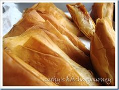 Apple turnovers with phillo dough