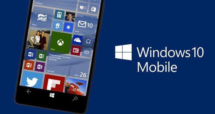 Windows 10 Mobile build 15063.2 no canal de distribuição Lento