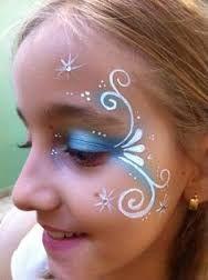 Bildergebnis für kinderschminken einfache motive