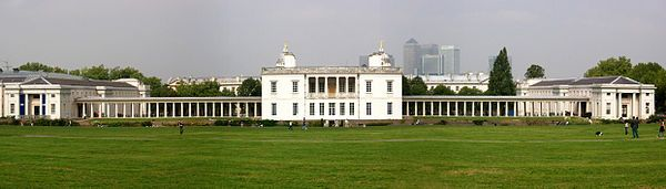 1617.The Queen's House, Greenwich,was designed and begun in 1614-1617 by architect Inigo Jones,early in his architectural career,for Anne of Denmark,the queen of King James I of England.