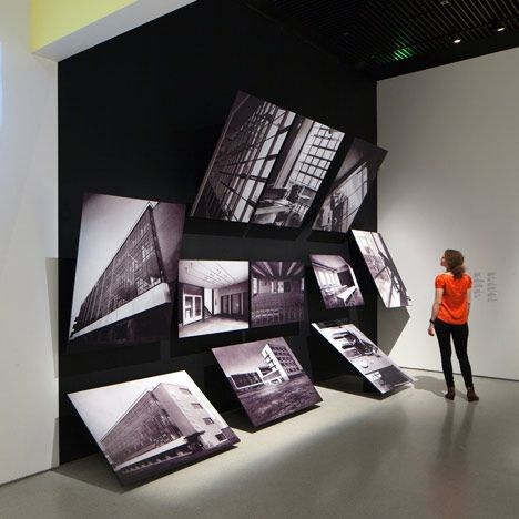 Bauhaus art as life by Carmody Groarke and A Practice For Everyday Life, photography exhibit