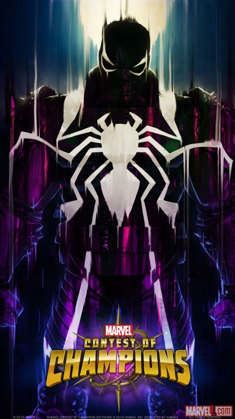 Agent Venom In Marvel Contest Of Champions Agent Venom Pinterest