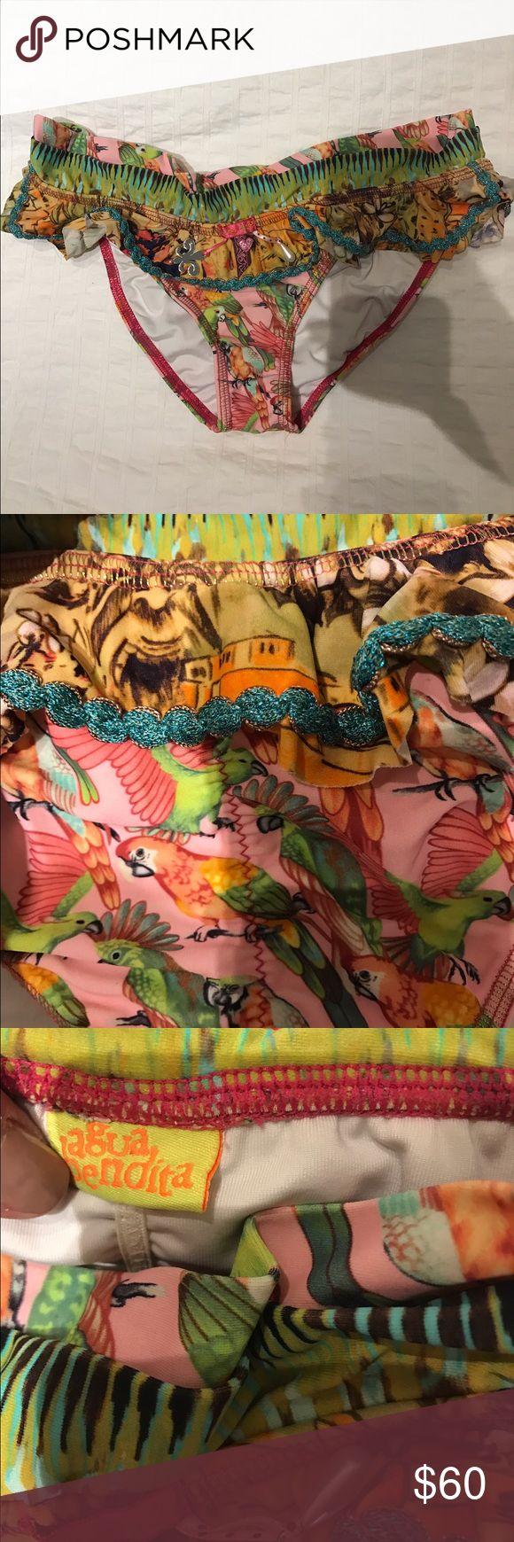 Shia Bendita bikini bottoms. Only worn a couple times. Size small. Brazilian cut back. agua bendita Swim Bikinis