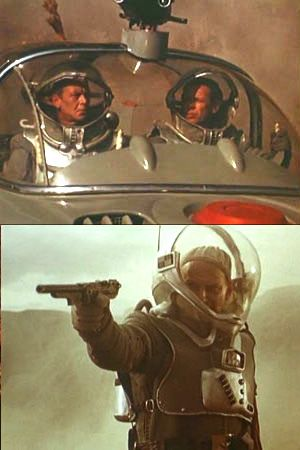 Planeta Bur (Storm Planet); the Russian science fiction movie made in 1960 and re-edited twice by Roger Corman's production company into two separate movies.