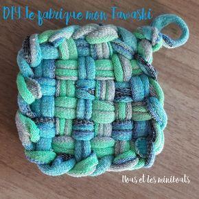 DIY : fabriquer son Tawashi (éponge zéro déchet) – Nous et les minibouts