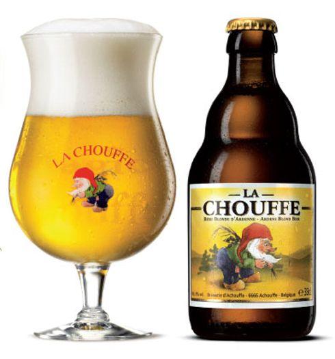 Una gran cervezas como esta Belgian Pale Strong Ale, no puedes perderte una fresca La Chouffe!