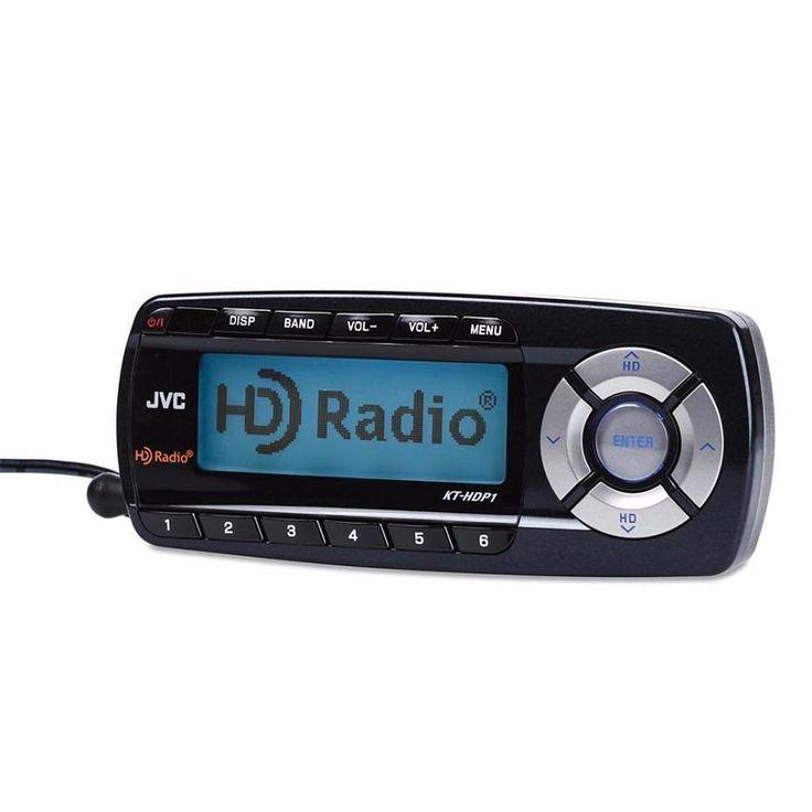 JVC KT-HDP1 Plug-N-Play Universal Portable High Definition AM/FM HD Radio Tuner #JVC