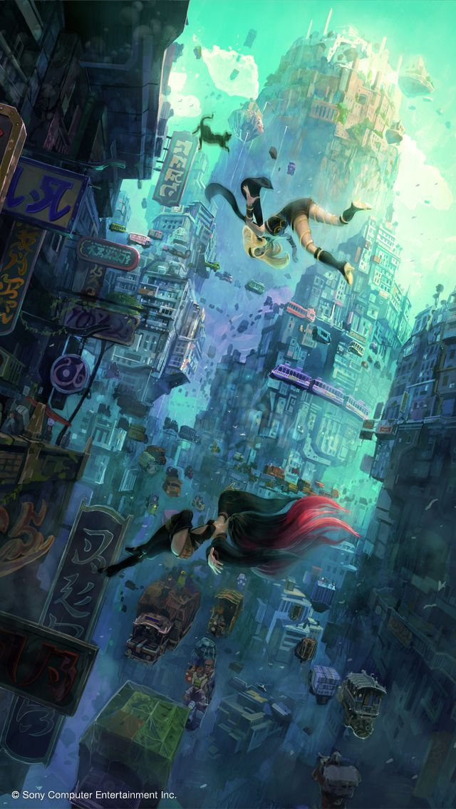 GRAVITY DAZE GRAVITY RUSH