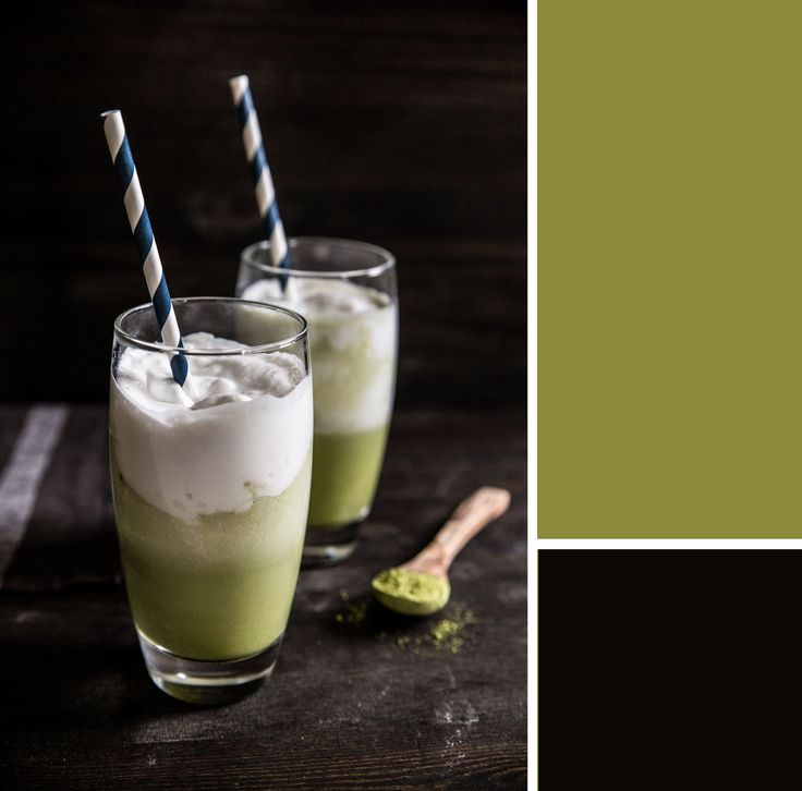 Iced Matcha Coconut Latte | Pastry Affair