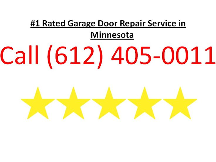 Call us at (612) 405-0011 or visit http://garagedoormn.com We are the top rated garage door repair company in MN MN. We provide garage door repair services garage door installations and garage door replacements. No job is too big or small! We also service commercial garage doors and gate systems!  Our service area includes the entire Minneapolis-St. Paul metro area and the surrounding suburbs. If your garage door has come off the track you have a broken spring a broken garage door cable your…