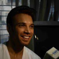 Actor Vikas Verma interacts with media Photos