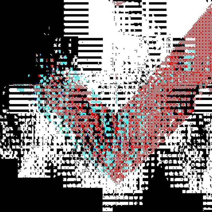 Modern operating systems employ virtual memory however programs that use large amounts of data (e.g. video editing) may need to create temporary file(s). #glitch #art #glitchart #experimental #design#digital #newyorkart #cyberpunk #data #abstract  #two
