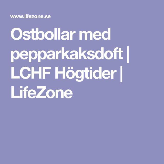 Ostbollar med pepparkaksdoft   LCHF Högtider   LifeZone