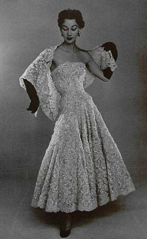 1952 Christian Dior  Christian Dior, I wish I had met you.