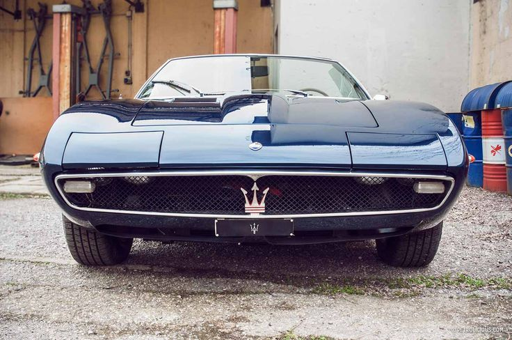 1969 Maserati Ghibli Spider