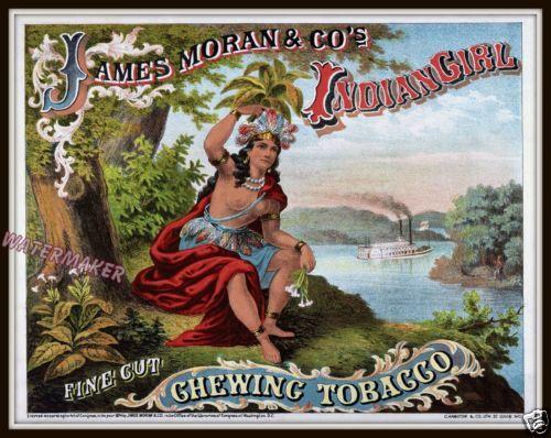Wall-Art-James-Moran-Indian-Girl-Chewing-Tabacco-Print-1874-11x14