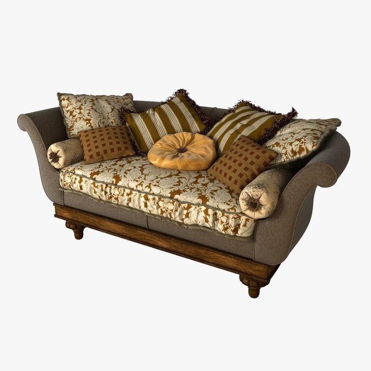 3D Provasi Sofa Model   3D Model