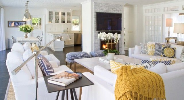 One of my all time favourite Hamptons style homes. This East Hampton Beach House by Chango & Co blends so many of the key elements so well and is so fresh and summery