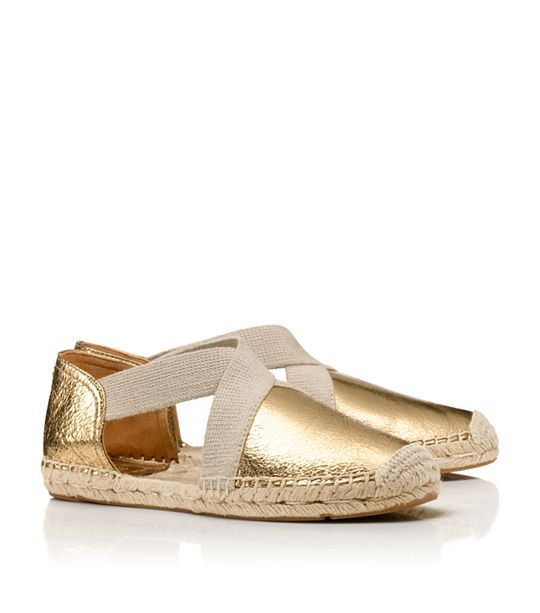 CATALINA METALLIC ESPADRILLE