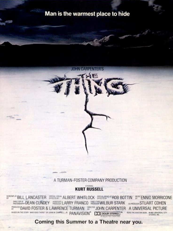 John Carpenter's The Thing is one of the best films from the 1982 Golden Year of Sience Fiction.  And possibly the most truly alien lifeform ever - clearly advanced, but completely unknowable.