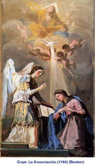 Goya, La Anunciación
