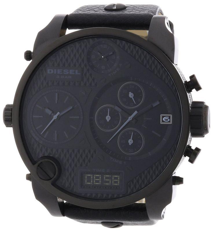 Diesel Herren-Armbanduhr XL Mr. Daddy Multi Movement Analog - Digital Quarz Leder DZ7193: Diesel: Amazon.de: Uhren