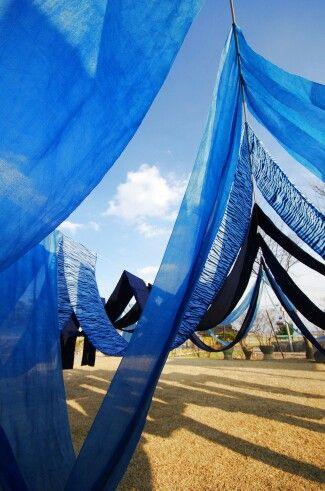 쪽빛 korean blue