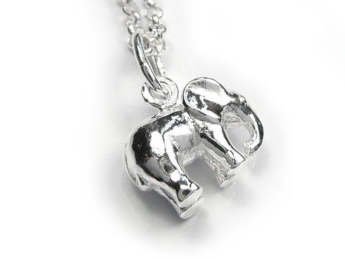 Silver Pendant - Elephant