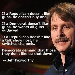 isn't this the truth! The only first amendment the left allows is theirs. Time to shut them down!