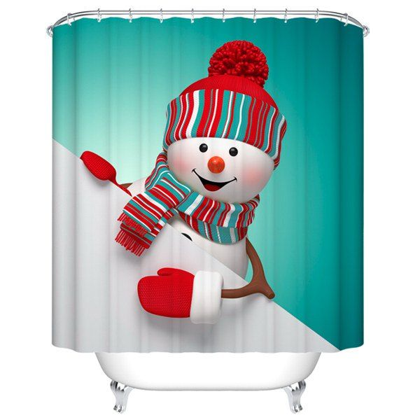 Best 25+ Christmas shower curtains ideas on Pinterest   Christmas ...