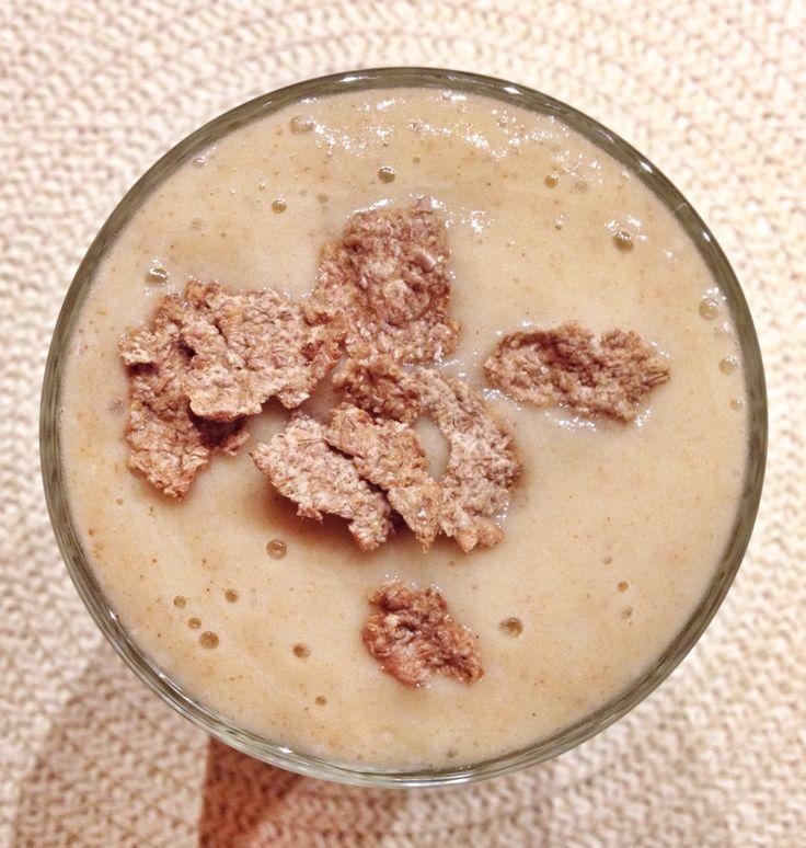 Apple - cinnamon - stevia sugar - egg (white thing) - water - AllBrannRegular .....