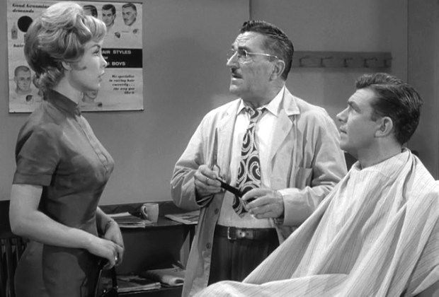 Barbara Eden, Howard McNear & Andy Griffith - Sitcoms Online Photo ...