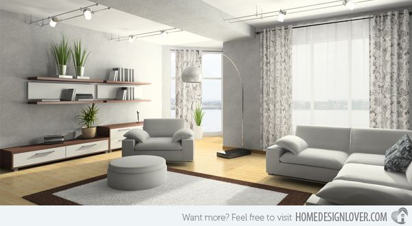 Place furniture in right areas