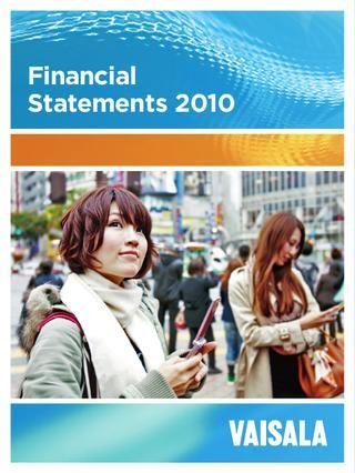 Vaisala Financial statements 2010
