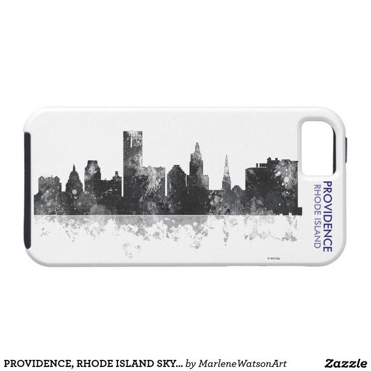 PROVIDENCE, RHODE ISLAND SKYLINE iPhone 5 COVER