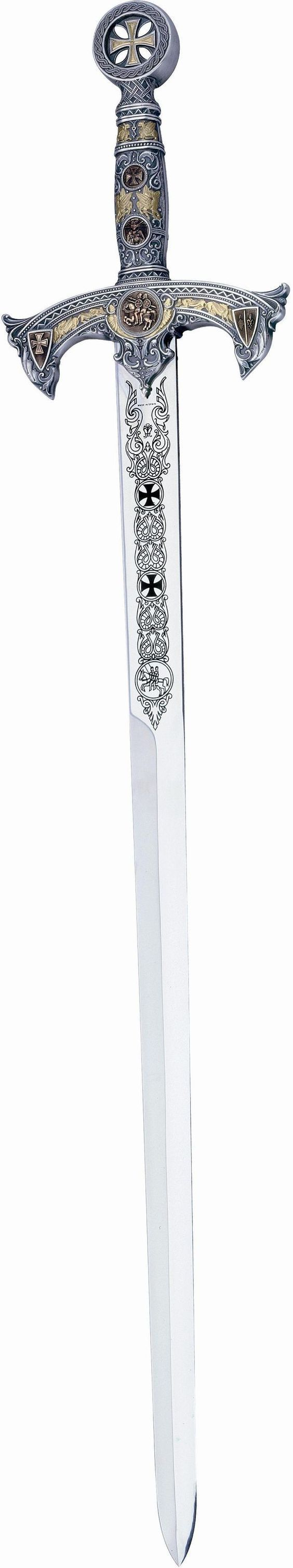 Knights Templar: Silver Deluxe #Templar #Knights Sword, by Marto of Spain.: