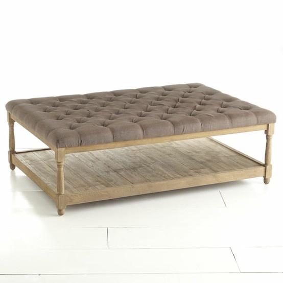 Upholstered Coffee Table Upholstered Coffee Tables