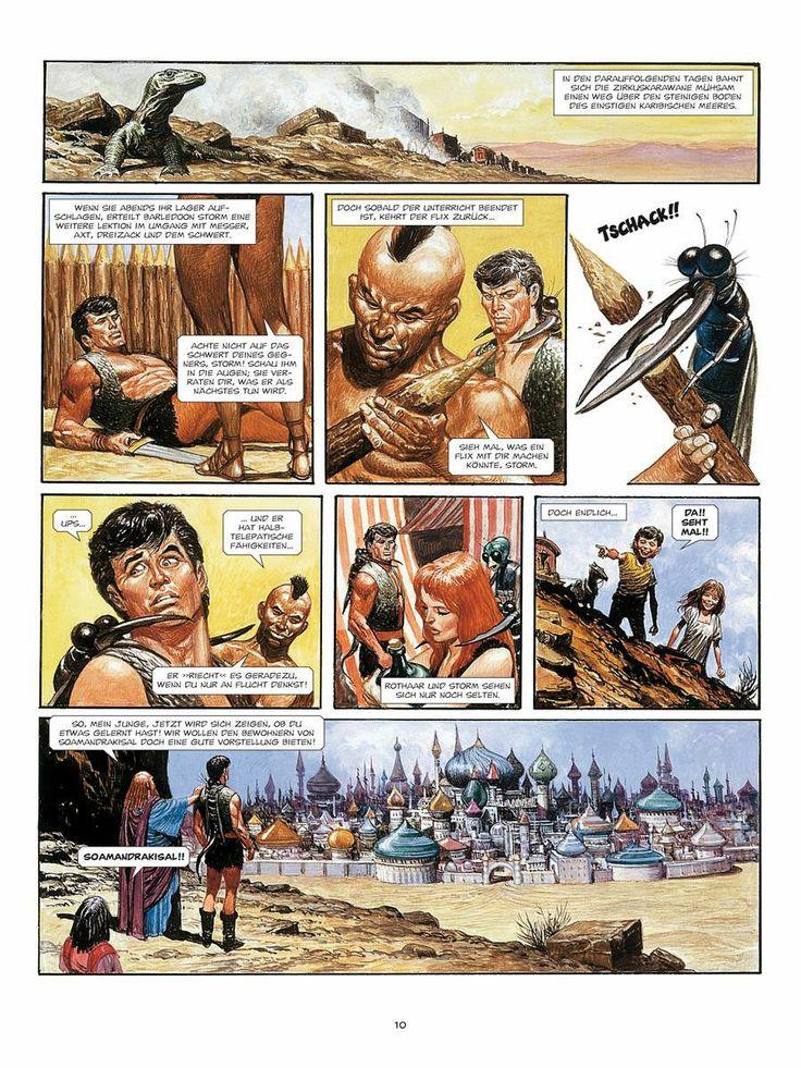 Behold Soamandrakisal!  De Laatste Vechter in the series Storm by Don Lawrence and Martin Lodewijk. German ed.