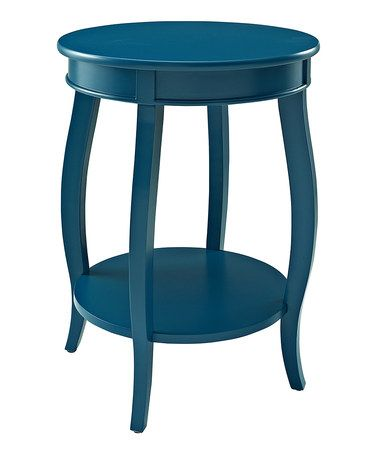 Another great find on #zulily! Teal Two-Tier Accent Table #zulilyfinds  $59.99