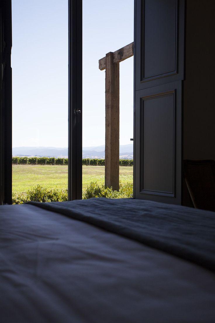 #roomwithaview #vineyard #accomodation #yarravalley