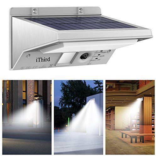 Solar Lights Outdoor LED Motion Sensor Waterproof Yard Garden Ultra Bright NEW  #OutdoorLights