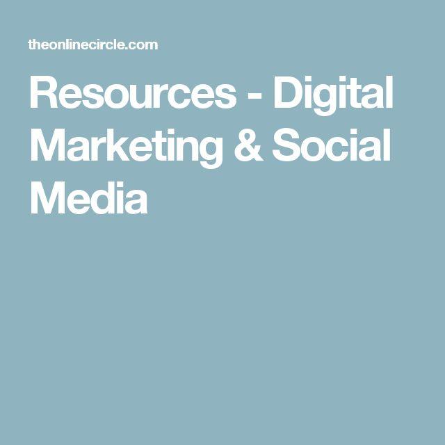 Resources - Digital Marketing & Social Media