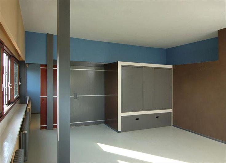 Ле Корбюзье / Le Corbusier. Дома в поселке Вейссенгоф (Maisons Weissenhof-Siedlung), Штутгарт, Германия. 1927