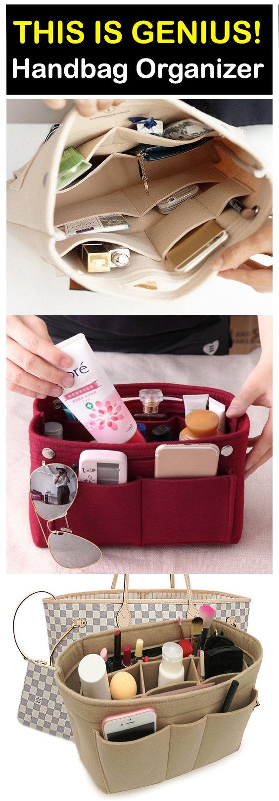 Multi-Pocket Handbag Organizer – ⭐⭐⭐⭐⭐ (5/5) – Inspire Uplift